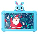 7 Kids Tablet,Android Tablet for Kids WiFi Toddler Tablet 1G+16GB Quad Core Kids Tablets with Bluetooth Camera Support Google Play Store Netflix YouTube Parental Control Kids Learning Tablet (Blue)