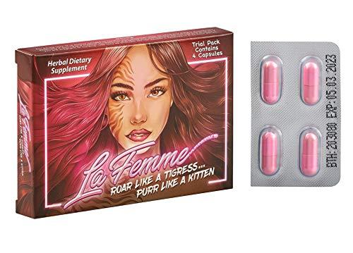 La Femme ~ New Formula for Women ~ Trial Pack (4 Capsules)