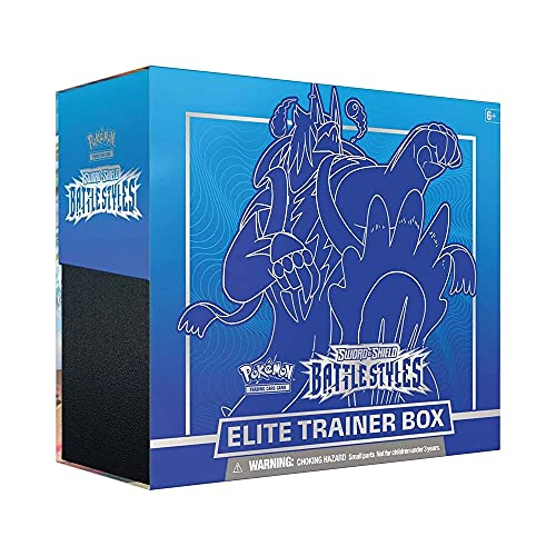 Pokemon TCG: Sword & Shield Battle Styles Elite Trainer Box (Random Draw)