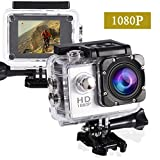 Action Cam,Subacquea Ultra HD Sport Action Camera, Videocamera Impermeabile Full HD 1080P ...