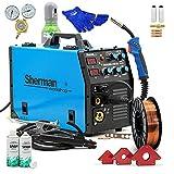 Sherman™ DUALMIG 210 S4 MIG/MAG Soldadora Inverter Soldadora Inverter 200 Amp Máquina de Soldadura Sin Gas