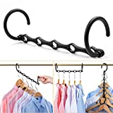 CIMLORD 6 Pack Magic Hangers,Closet Organizers and...