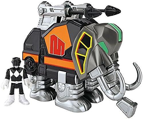 Imaginext Power Rangers schwarz Ranger and Mastadon by Imaginext