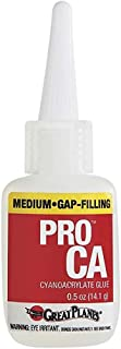 GREAT PLANES Pro CA+ Glue 1/2 oz Medium GPMR6007