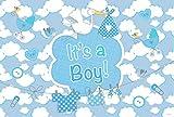 Geburt Mädchen It's a Girl Fahne fürs Fenster - 60x90 cm