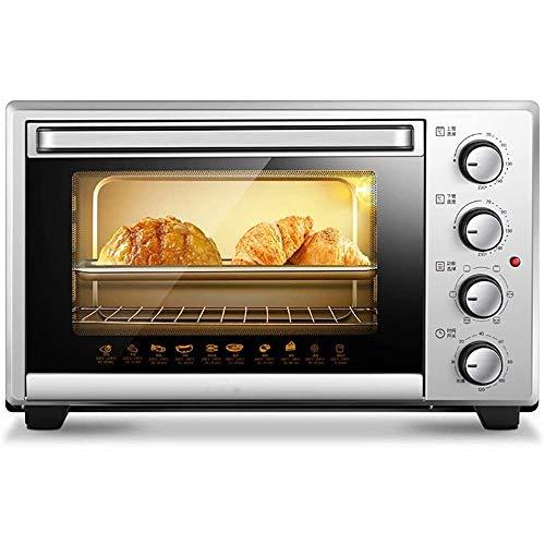 YHLZ 30L大容量電気オーブン、多機能家庭用コンパクトオーブン、ベーキングフォークの360°自動回転