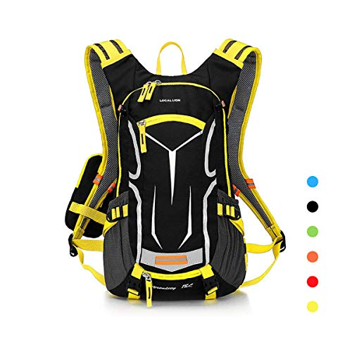 LOCALLION Cycling Backpack Biking Daypack For Outdoor Sports Running Hydration Pack Men Women 18L