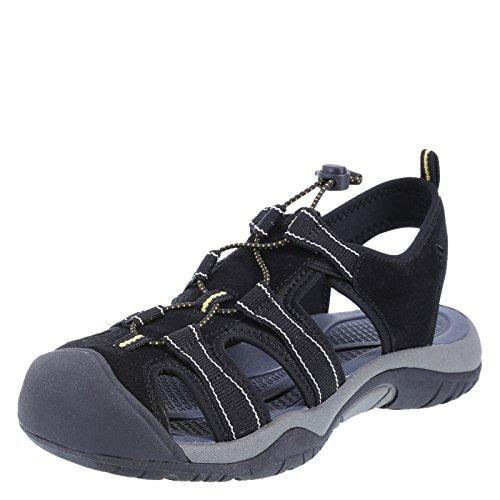 Airwalk Black Women's Buckley Sandal 6.5 Regular