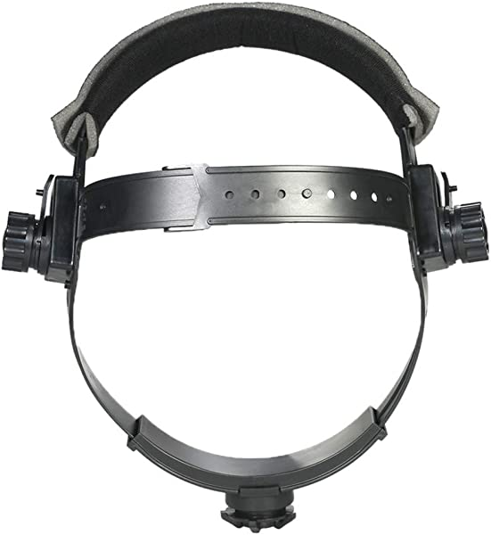 Lomsarsh Welding Headgear Adjustable Welding Welder Mask Headband Solar Auto Dark Helmet Accessories Welding Mask Accessories Head With Welding Cap Headband Protective Lens
