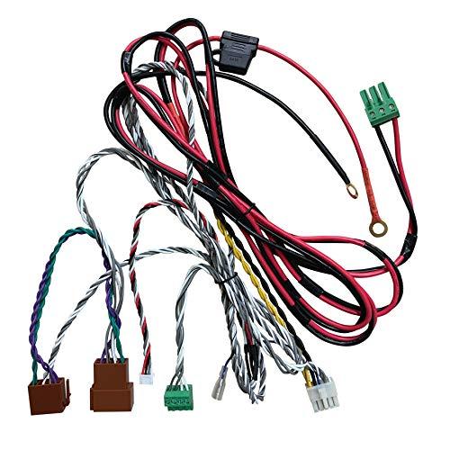 ETON UG FIAT FDCC: High Level Plug & Play Anschlusskabel für ETON Micro 120.2 Verstärker und Aktivsubwoofer USB 6 im FIAT Ducato, perfekt für Reisemobile