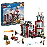 レゴ(LEGO) シティ 消防署 60215 ブロック おもちゃ 男の子 車