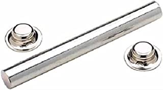 """Boat Marine Galvanized Roller Shaft With 2 Pal Nuts 6-1//4/"""" Length 1//2/"""" OD"""