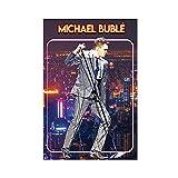 Sänger Michael Buble Star Poster 2 Leinwand Poster