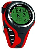 Mares Smart Reloj, Unisex Adulto, Black/Red, One Size