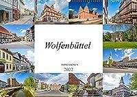 Wolfenbuettel Impressionen (Wandkalender 2022 DIN A2 quer): Zu Besuch in der einmalig wunderschoenen Stadt Wolfenbuettel (Monatskalender, 14 Seiten )