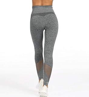 Sexy Yoga Pants High Waist Seamless Sport Workout Tights Women Tummy Control Gym Training Leggings Breathable Mesh Yoga Fi...