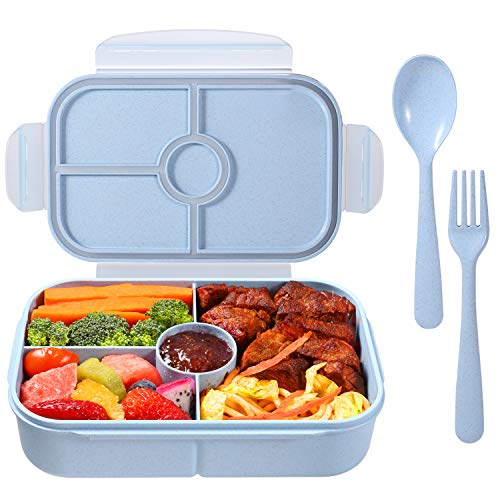 (40% OFF) Bento Lunch Boxes (Blue or Purple) $11.94 – Coupon Code