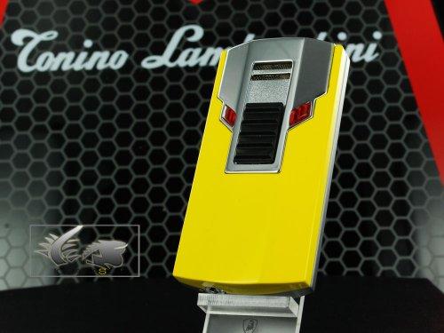 Tonino Lamborghini Estremo Torch Flame Feuerzeug, Herren, gelb