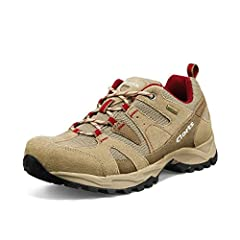 NOTE : The hiking shoes run a bit small. Recommend ordering a half-size up ! Or full size up from your normal size if your foot width is a little bit wide WATERPROOF and BREATHABLE : Clorts women hiking shoes will keep you steady and confident on mud...