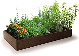 Raised Garden Bed - Outdoor Garden or Patio for Vegetable Flower - Rectangular Planter – Easy and Fast Assembly