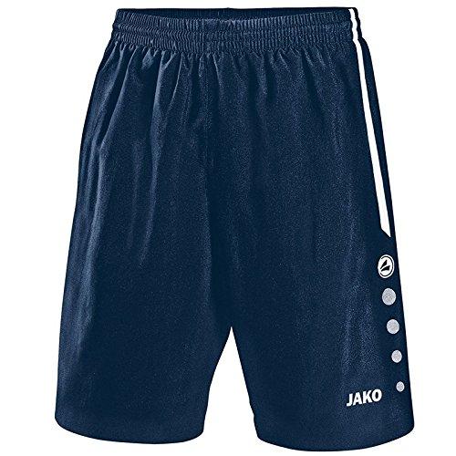 JAKO Pantalon Sport Football Florence XXS Bleu Marine/Blanc