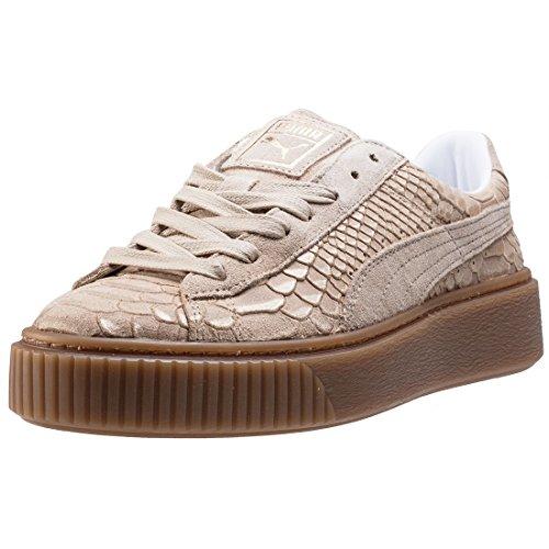 PUMA Basket Platform Exotic Skin 36337702, gymschoenen