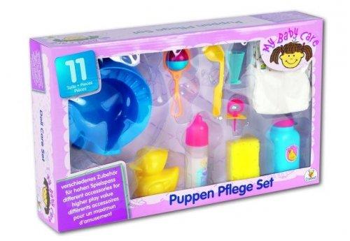 My Baby Care Puppen-Deluxe Set 10 Stück u.a. Töpfchen,Windeln, uvm.