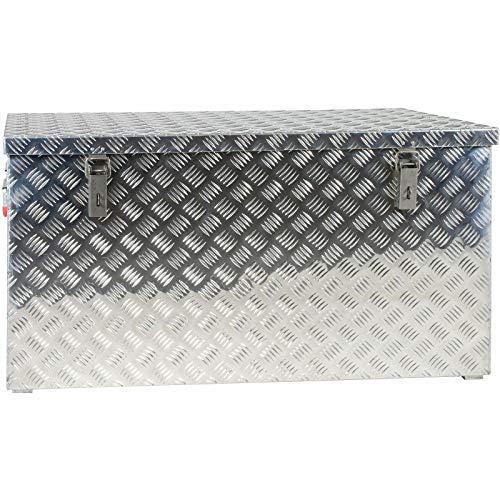 JUMBO Alluminium Riffelblech-Box Alu 250 Liter ALUT250 L 1022 x B 500 x H 500 mm ALU-Box Kiste Transport-Box Tränenblech