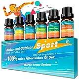 Ätherische Öle für Diffuser Set Duftöl Aroma Diffuser Öl-100% Pure Naturrein Aromatherapie...