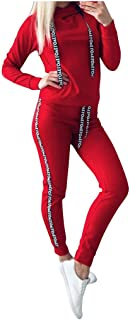vkjany Tracksuit for Women Under 10 Dollars Prime Winter Women's New Sports Suit Two-Piece
