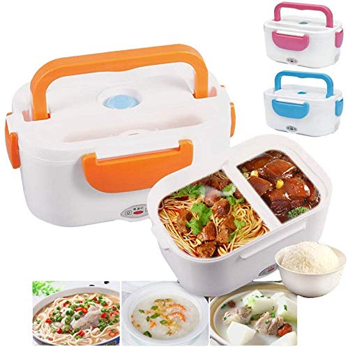 JN ENTERPRICE Electric Food Lunch/Tiffin Warmer Box for Office and Kids, Medium (Multicolour)