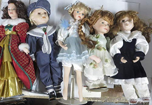 DISTURBING DOLL COLLECTION! 5 NOT-PORCELAIN DOLLS THAT WILL TERRIFY YOU/CHILDREN
