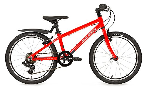 Raleigh Kinder Performance Bike, rot, 10 Zoll