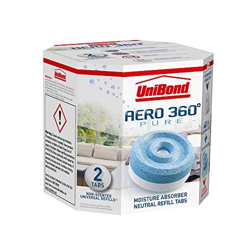 2 Recharges pour Absorbeur d'humidité Unibond Aero 360
