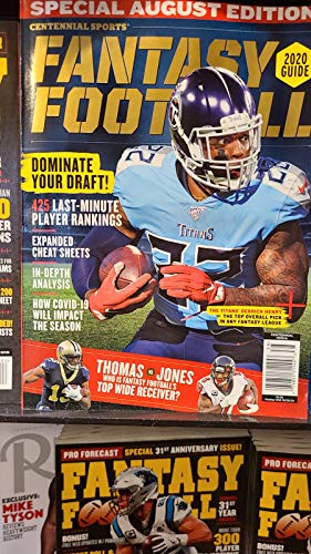 Centennial sports fantasy football magazine 2020 issue 38
