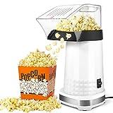 Best Hot Air Poppers - KodaQo Hot Air Popcorn Machine, Electric Popcorn Maker Review
