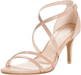 Crisscross Strap High Heel Sandals Style HARLEEN02