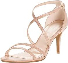 David's Bridal Crisscross Strap High Heel Sandals Style HARLEEN02