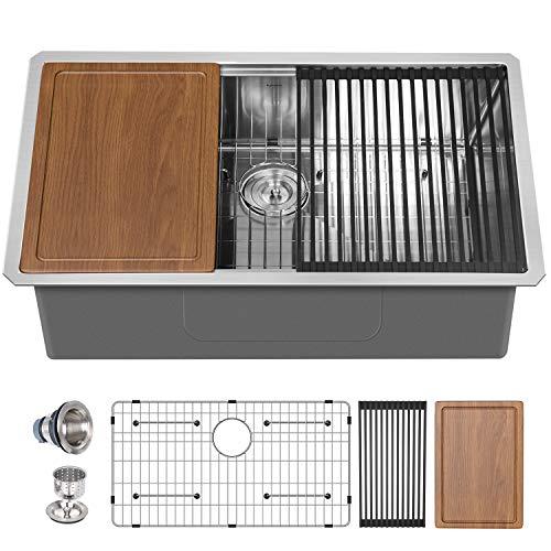 30 Undermount Stainless Steel Kitchen Sink