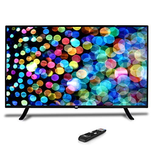 "50"" 1080p HDTV LED Television - Hi Res Widescreen Monitor Ultra HD TV with HDMI, RCA Input, Audio Streaming, Headphones, Stereo Speaker, Mounts on Wall, Works w/Mac PC, Includes Remote Control - Pyle"