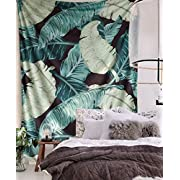 """FLBER Banana Leaf Wall Tapestry Home Decor,60""""x 80"""",Twin Size"""