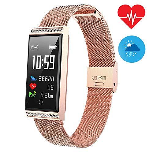 Fysieke Condition-monitor Bluetooth kleurenscherm 096 inch intelligente armband, bewaking van de hartslag en activiteit, IP68 waterdicht