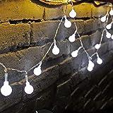 JP-LED Catena Luminosa Di Luci Led 13M【filo di 100 lampadine 10M e Cavo Di Prolunga 3M�...