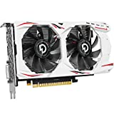 Riiai Graphics Card Geforce GTX1050TI 4G Game Graphics Cards Support PCIE 3.0 DVI+DP1.4+HDMI2.0 Video Graphics Cards for Desktop Computer E-Sports Live Game