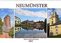 Neumuenster - Mitten in Schleswig-Holstein (Wandkalender 2022 DIN A2 quer): Begleiten Sie uns durch die Idyllische kreisfreie Stadt Neumuenster an der Schwale (Monatskalender, 14 Seiten )