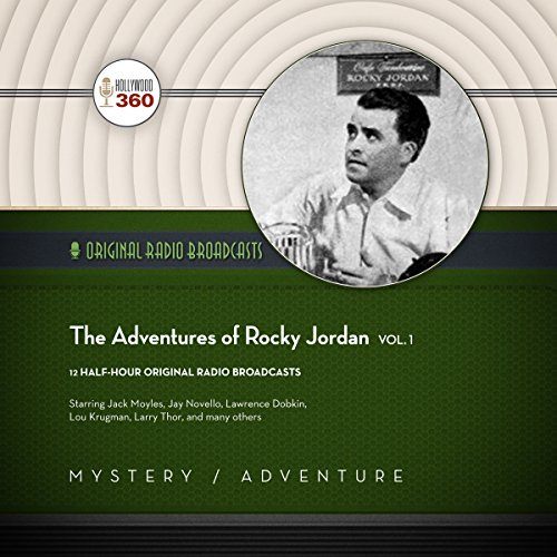 The Adventures of Rocky Jordan, Vol. 1 audiobook cover art