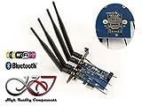 Kalea-Informatique –Controller PCIe per scheda Minicard (miniPCIe mpcie o USB) Wi-Fi e/o Bluetooth–con lettore scheda SIM–Doppia interfaccia USB e PCIe