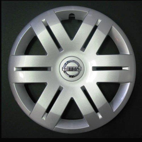 Jeu de 4 Enjoliveurs Neuf pour Nissan Primastar/Micra 2002> / Almera 2000-2006 / Primera 2000-2008 avec Roues Originales en 16 Pouces