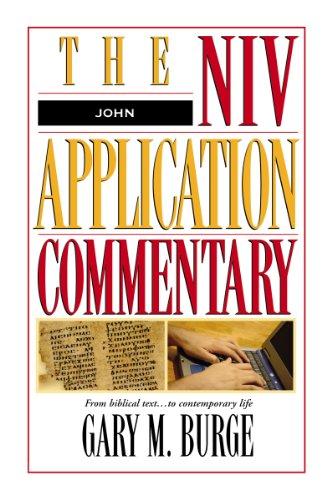 Image of John: The NIV Application Commentary