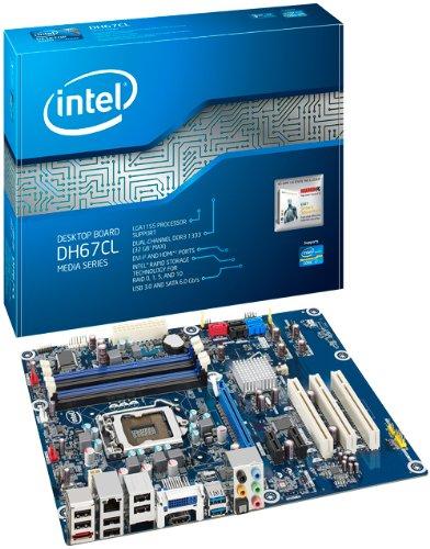 INTEL BOXDH67CLB3 ATX LGA1155 H67 chipset DDR3-1333 INTEL HD Graphics HDMI+DVI-I USB 3.0 ATX Boxed